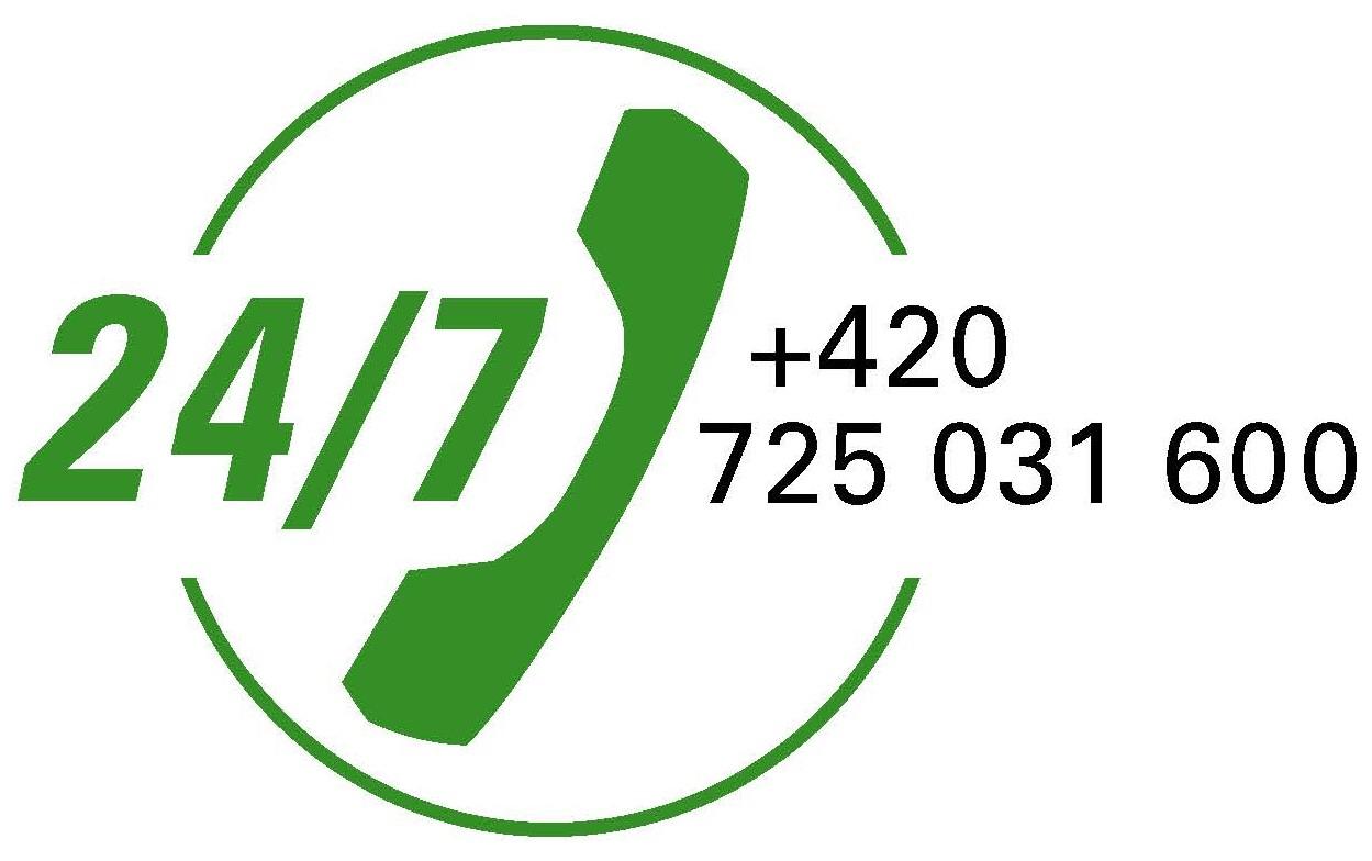 24-hodinová NON-STOP servisní linka