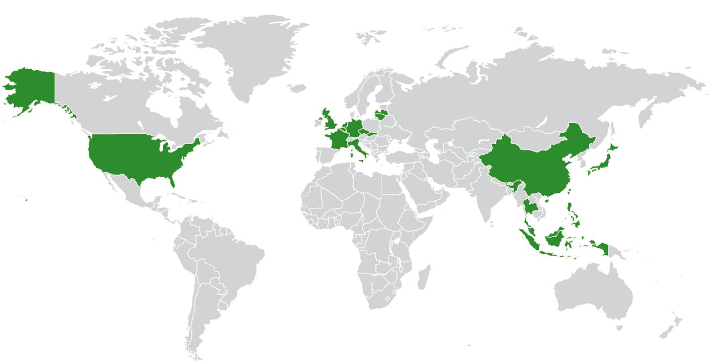 EnviTec po celém světě