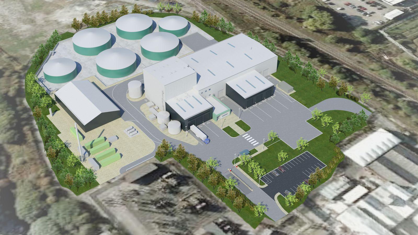 6 MW jen z odpadů a enzymů – budoucnost v Anglii