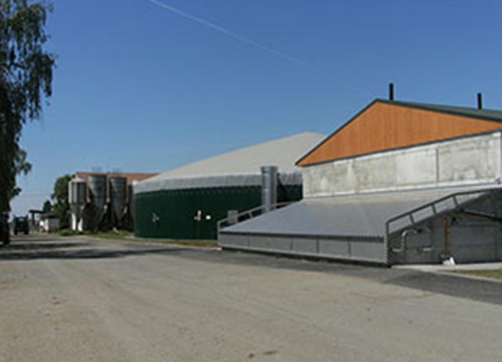 Bioplynová stanice Šlapanice