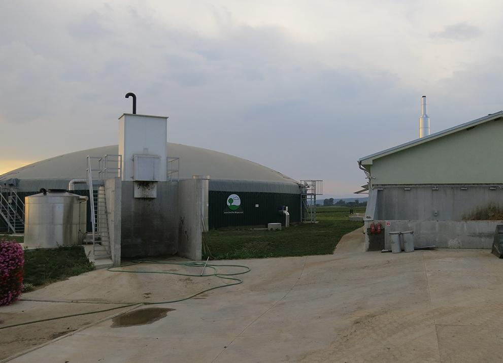 Bioplynová stanice Štrkovec