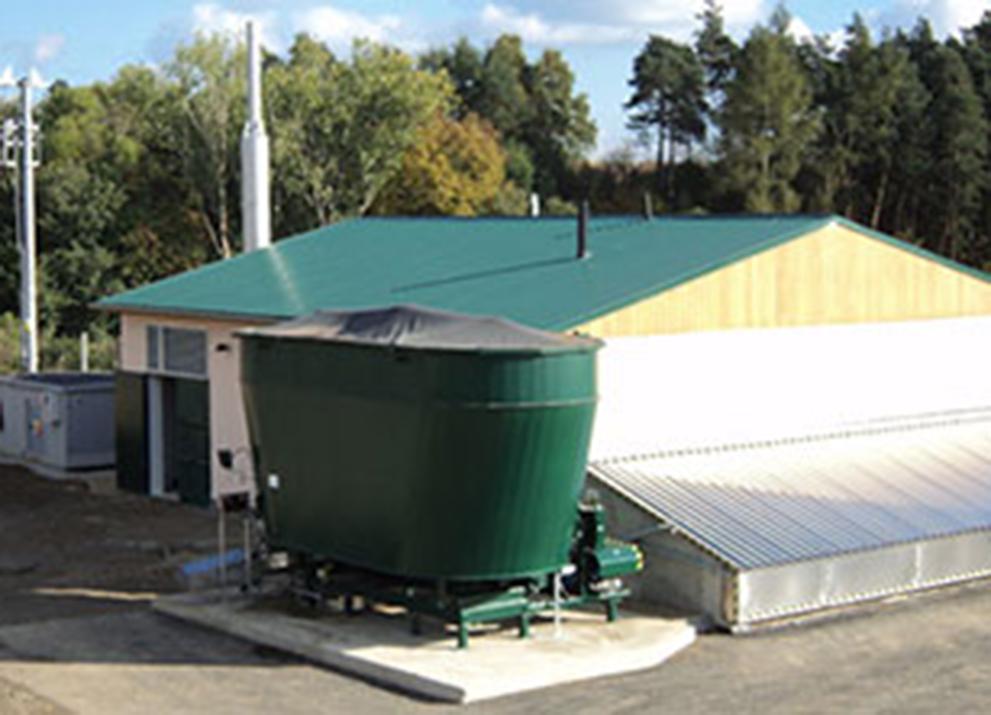 Bioplynová stanice Dolní Heřmanice