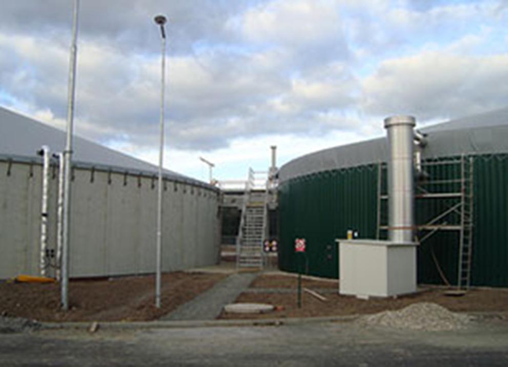 Bioplynová stanice Kestřany