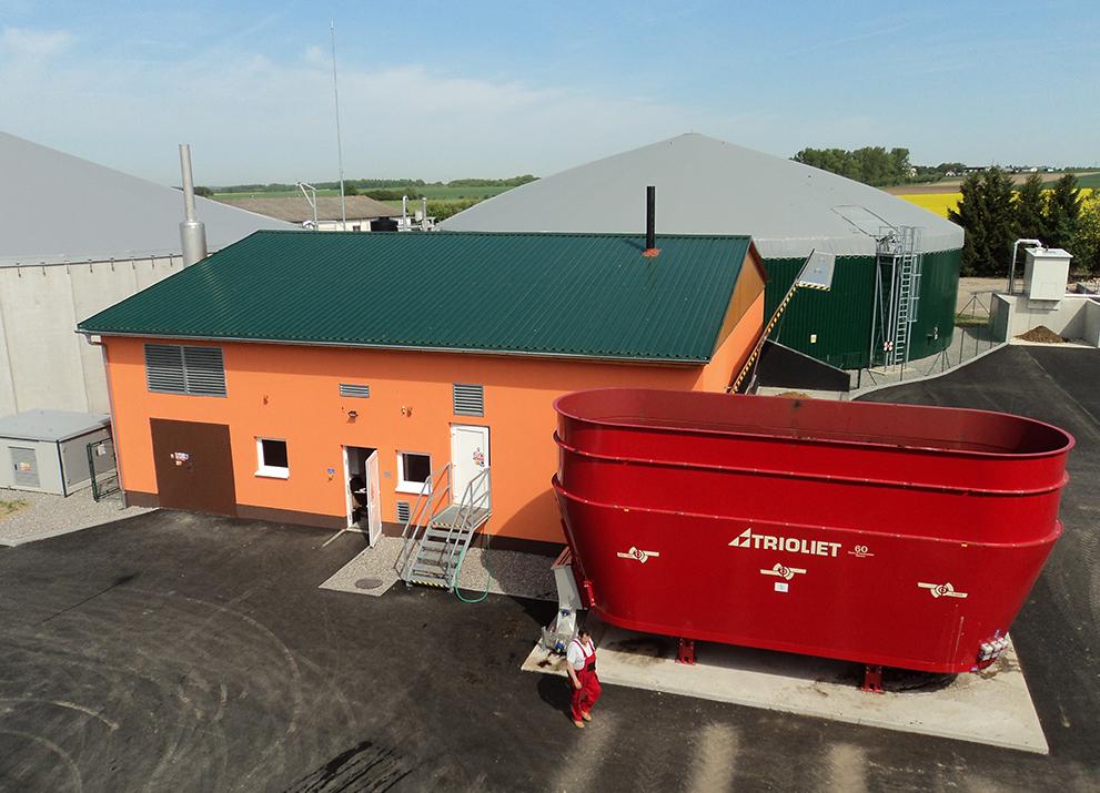 Bioplynová stanice Olešník