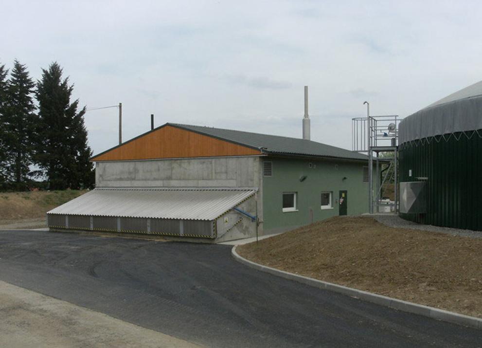 Bioplynová stanice Rybníček