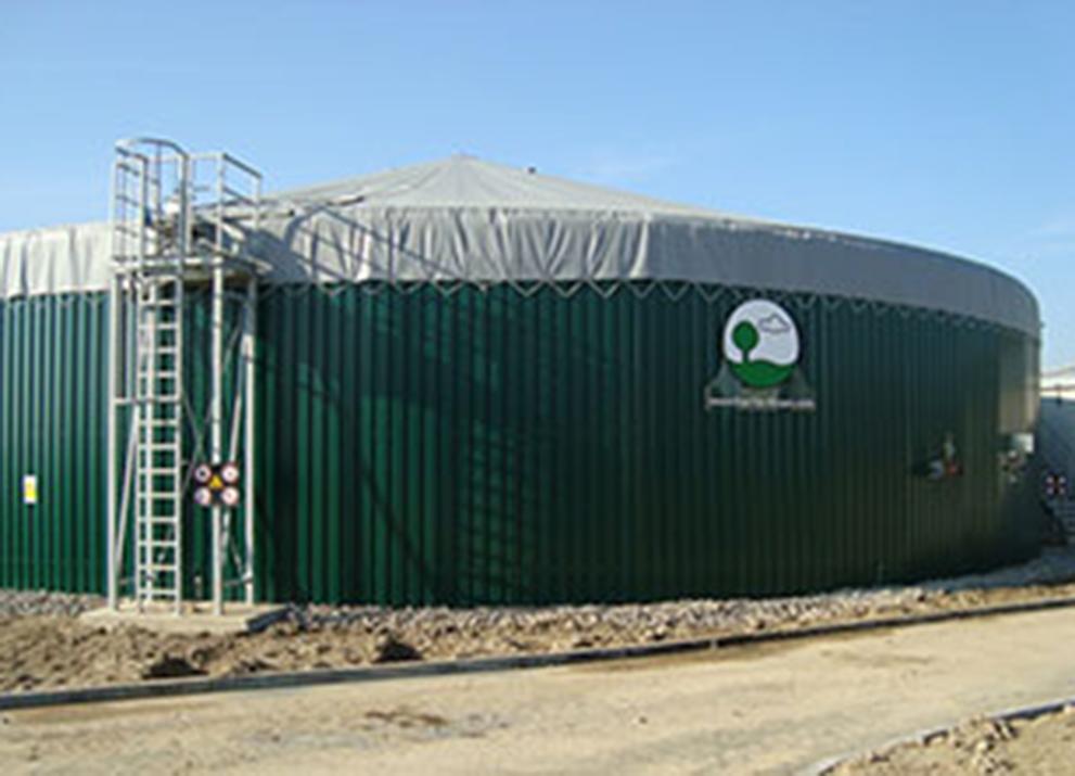 Bioplynová stanice Slapy