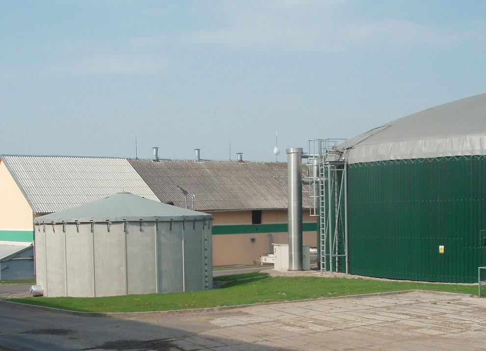 Bioplynová stanice Třeština