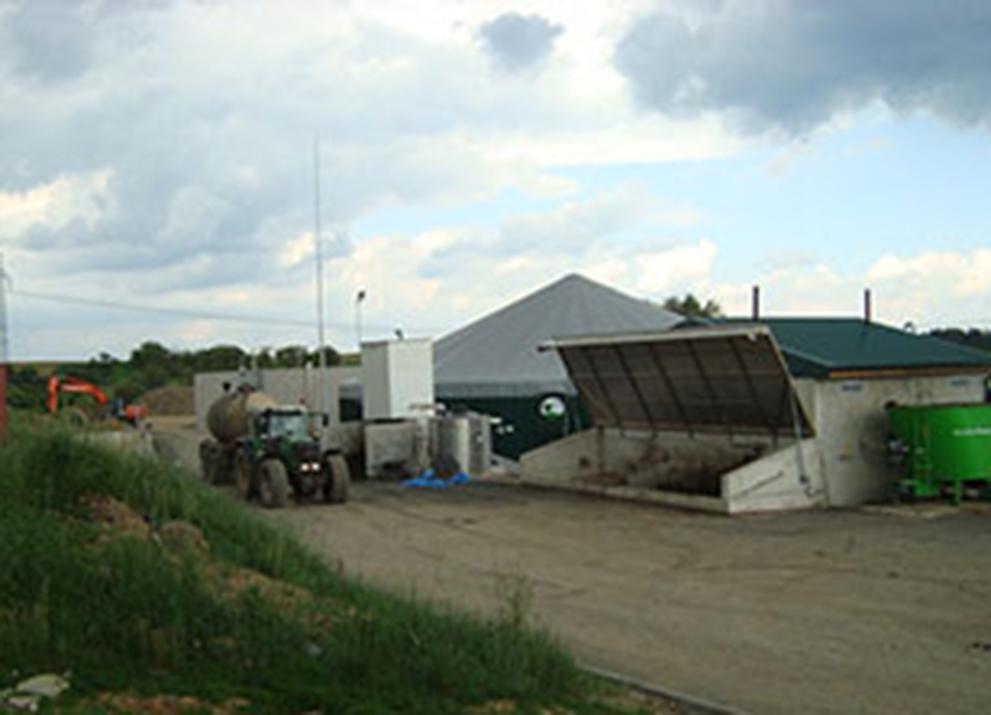 Bioplynová stanice Velká Bíteš
