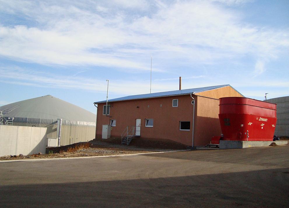 Bioplynová stanice Vysoké Studnice