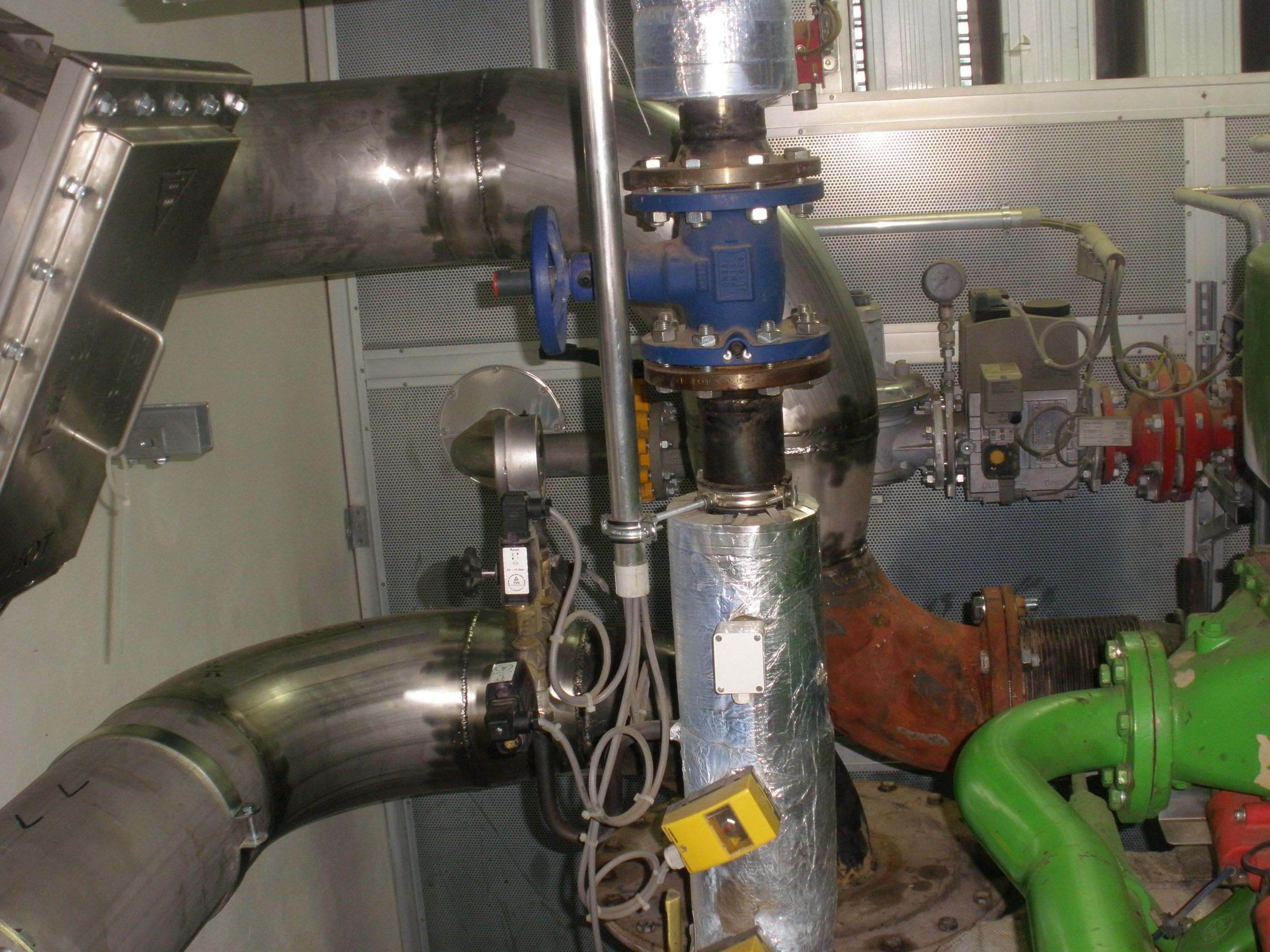 Zhotovení bypassu přímo na bioplynové stanici